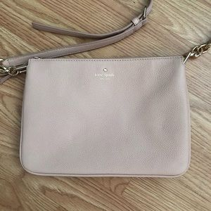 Kate Spade Pink Crossbody Leather Purse